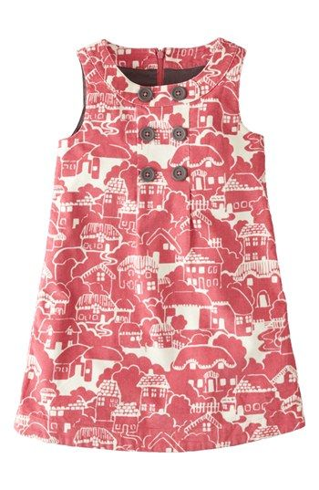 Mini Boden Corduroy Pinafore Dress (Toddler Girls, Little Girls & Big Girls) | Nordstrom