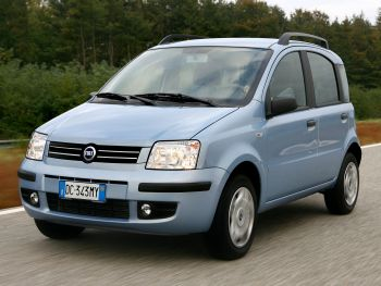 Fiat Panda Natural Power (169) '2007–09