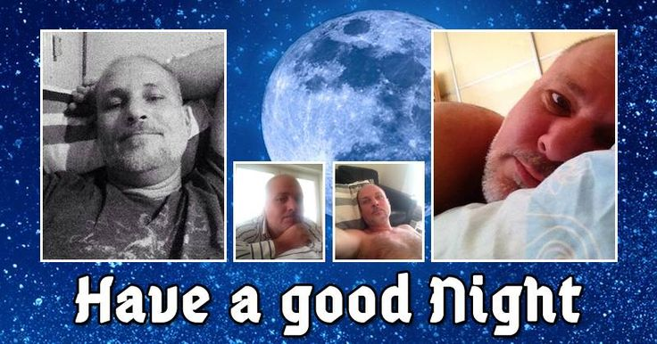 Photo Collage with message Have a good night