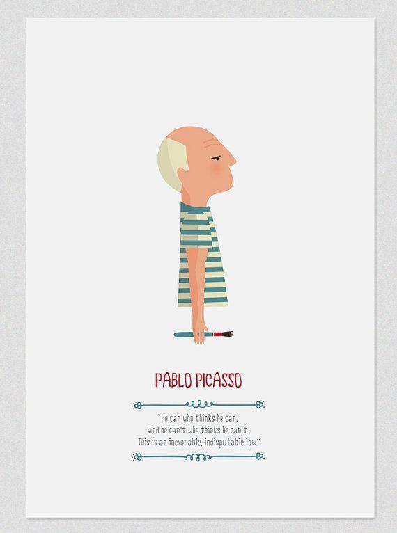 Pablo Picasso.  by Tutticonfetti