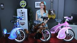 Motor'n News | Custom Painted Hand Airbrushed Morgan Cycle Retro Tricycles By Linear Automotive