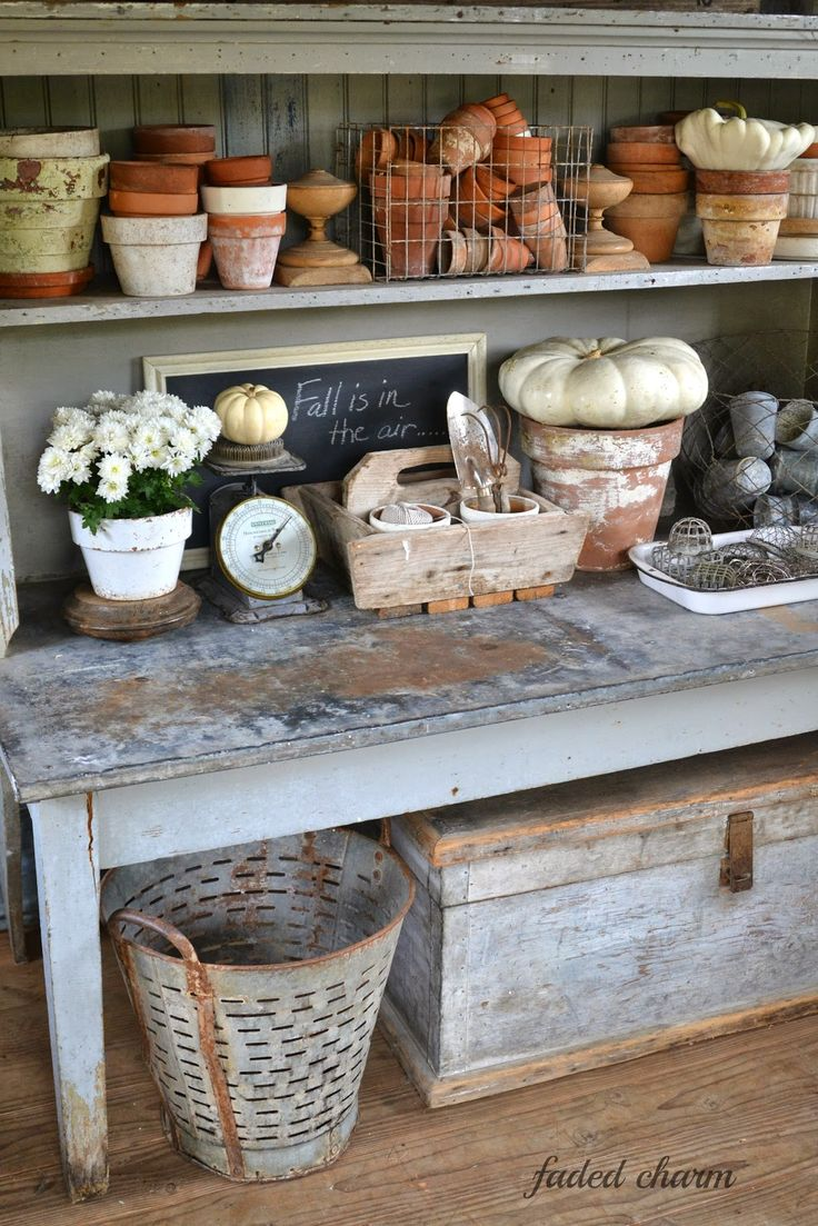 Faded Charm: ~Pots & Pumpkins~