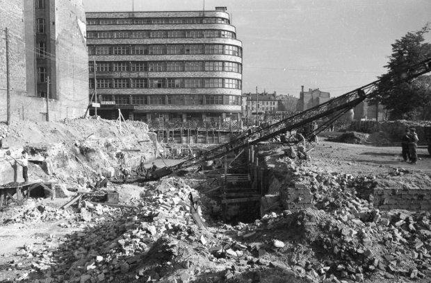 Wrocław 1945 - Świdnicka, Wertheim/PDT/Renoma