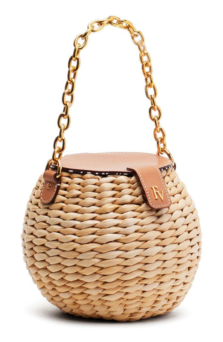 Mini Woven Bucket Bag