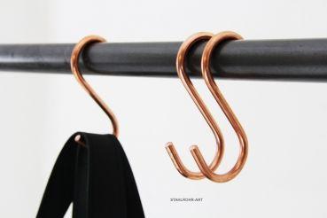 Stahlrohr Art S Haken Kupfer Wohnaccessoires S Haken Und
