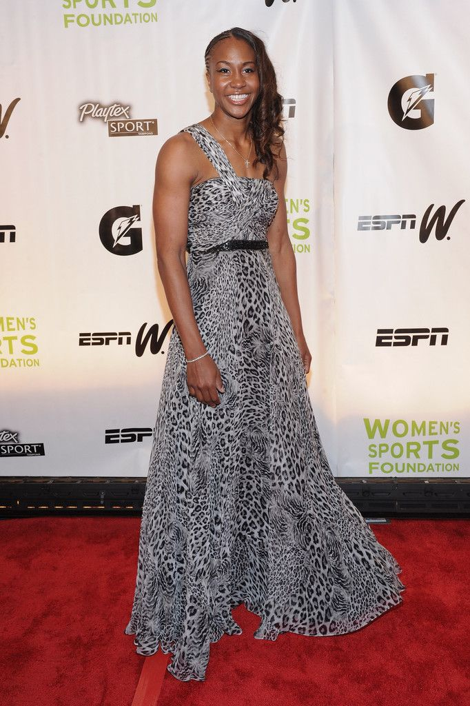Tamika Catchings in 32nd Annual Salute To Women In Sports - Arrivals