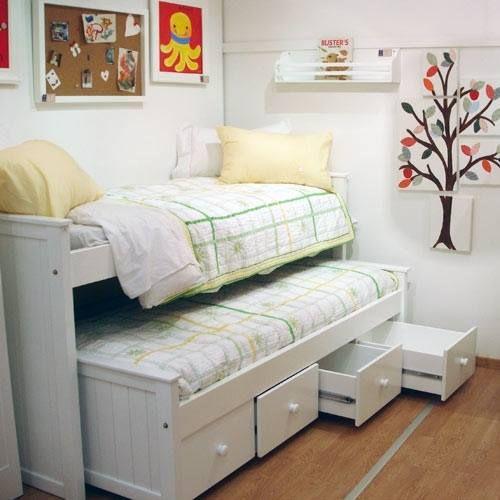muy bueno para aprovechar espacio en cuarto de chicos