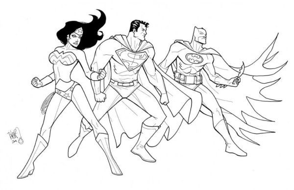 Color Wonderwoman Superman Batman Who Doesn T Know Batman Maybe All Dc Fans And Superher Batman Coloring Pages Superman Coloring Pages Cartoon Coloring Pages