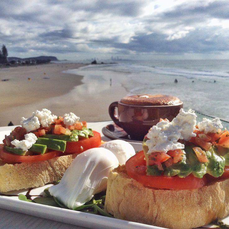 Currumbin Beach Vikings - Breakfast Bruschetta