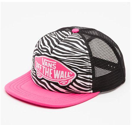 Zebra Vans Hat!
