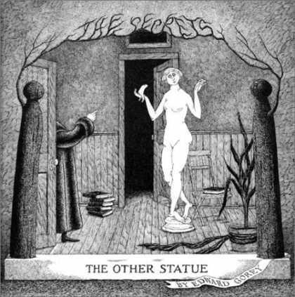 The Pagan Sphinx: Edward Gorey