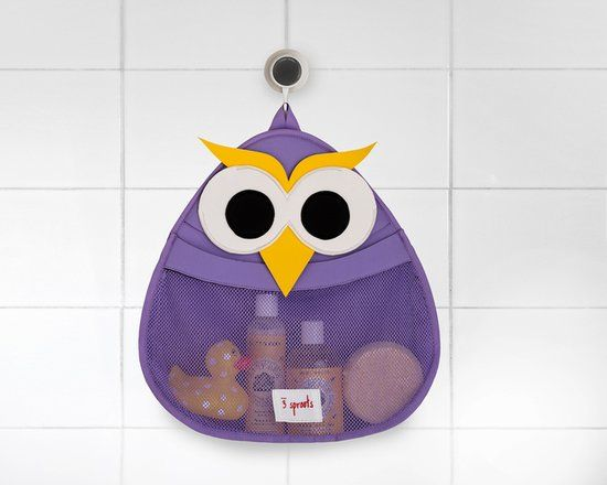 3 Sprouts's sweet storage solutions ($26 each). Choose from a friendly owl, walrus, or fox to make post-bath cleanup a breeze.