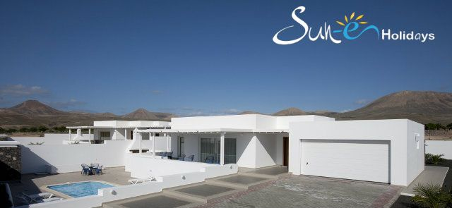 Villa Lazydays #36 3 Rooms #PuertoCalero #Lanzarote #CanaryIsland #Spain