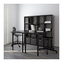 ber ideen zu kallax schreibtisch auf pinterest. Black Bedroom Furniture Sets. Home Design Ideas