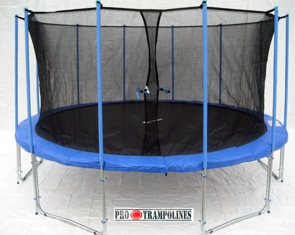 Bigger brother of best selling 15ft trampoline ever - ExacMe 16ft trampoline!