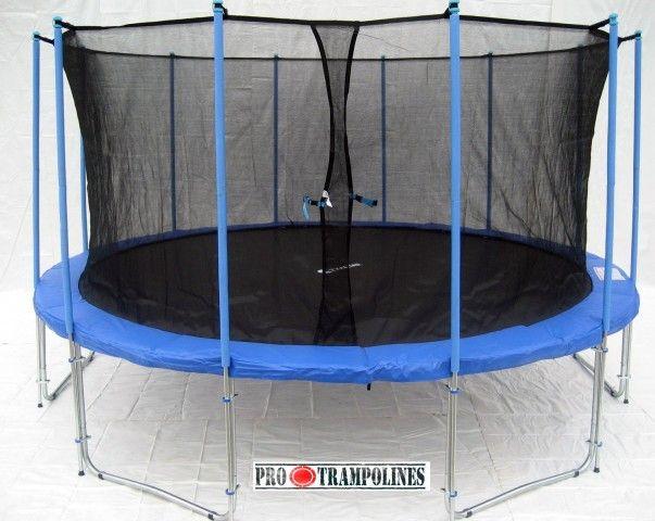 Bigger brother of best selling 15ft trampoline ever - ExacMe 16ft trampoline!