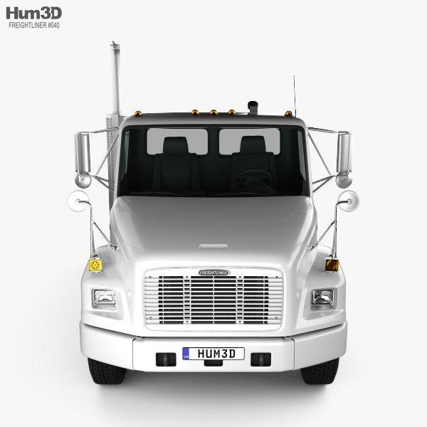 3d Model Of Freightliner Fl70 Tractor Truck 2003 Freightliner Freightliner Trucks Trucks