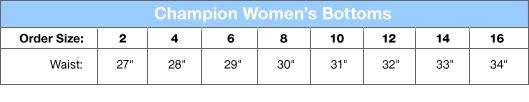 Champion Stretch-Cotton Twill Women's Chino Shorts  Style: C24128