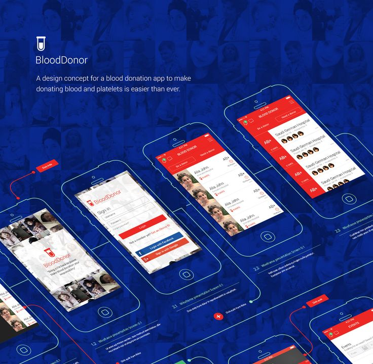 Blood Donor App on Behance