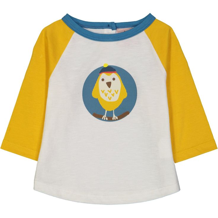 Fargo Owl on Organic Cotton. From Tootsa MacGinty. Available at Modern Rascals.