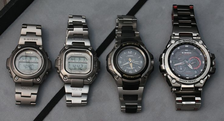 Casio G-Shock MR-G Comes To America With Titanium Case and GPS, Is $3,000