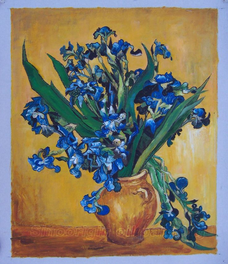 Vincent. Van Gogh Irises, I used this piece as my inspiration for my goes art coursework