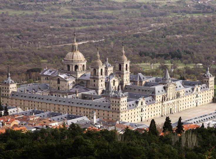 El Escorial Royal Palace Madrid Spain