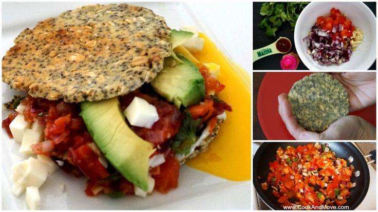 Receta de gordita Mexicana saludable con salsa ranchera  #MazolaPlatoSano #CocinayMuevete #5DeMayo