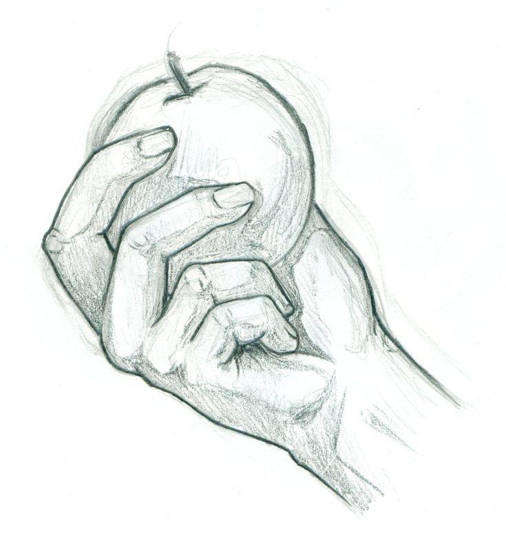рисунок рука в руке карандашом фото нейтральной зоне
