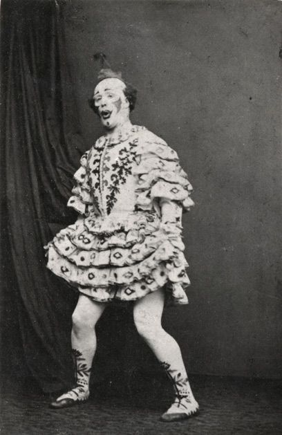 As if clowns could ever get more scary, just go back a few years to the Victorian era.