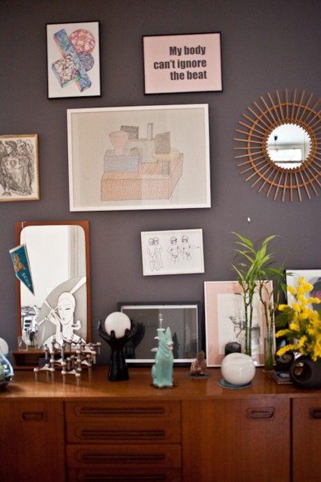 Freunde von Freunden — Leslie David — Graphic designer and illustrator, Apartment & Studio, 9ème Arrondissement, Paris — http://www.freundev...