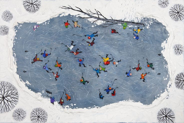 'January Free For All' by Bill Brownridge at Mayberry Fine Art