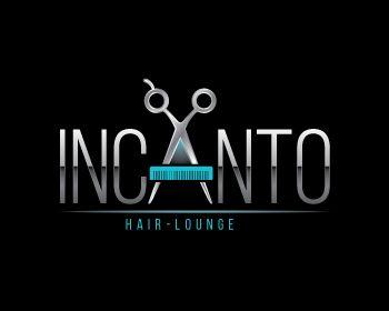 Incanto Hair-Lounge at https://www.LogoArena.com - logo by osgraphic