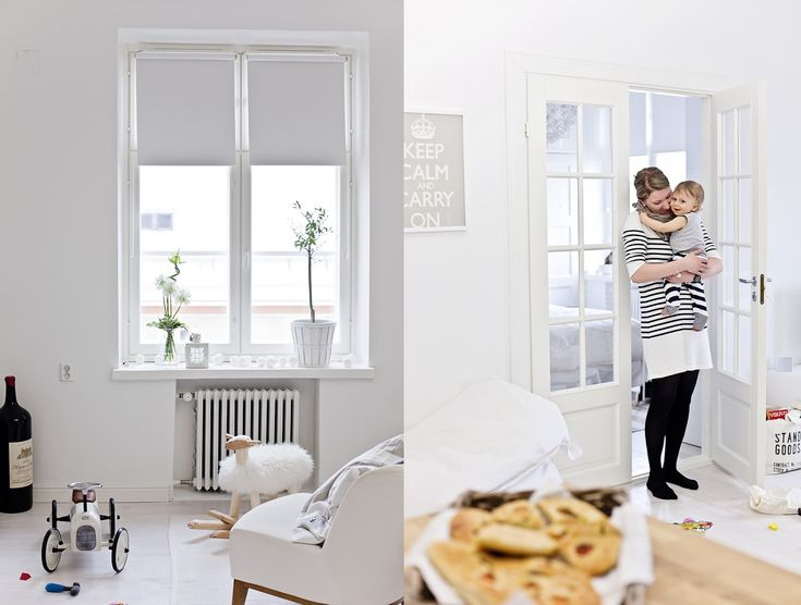 The insanely beautiful white home of Hanna – Jelanie