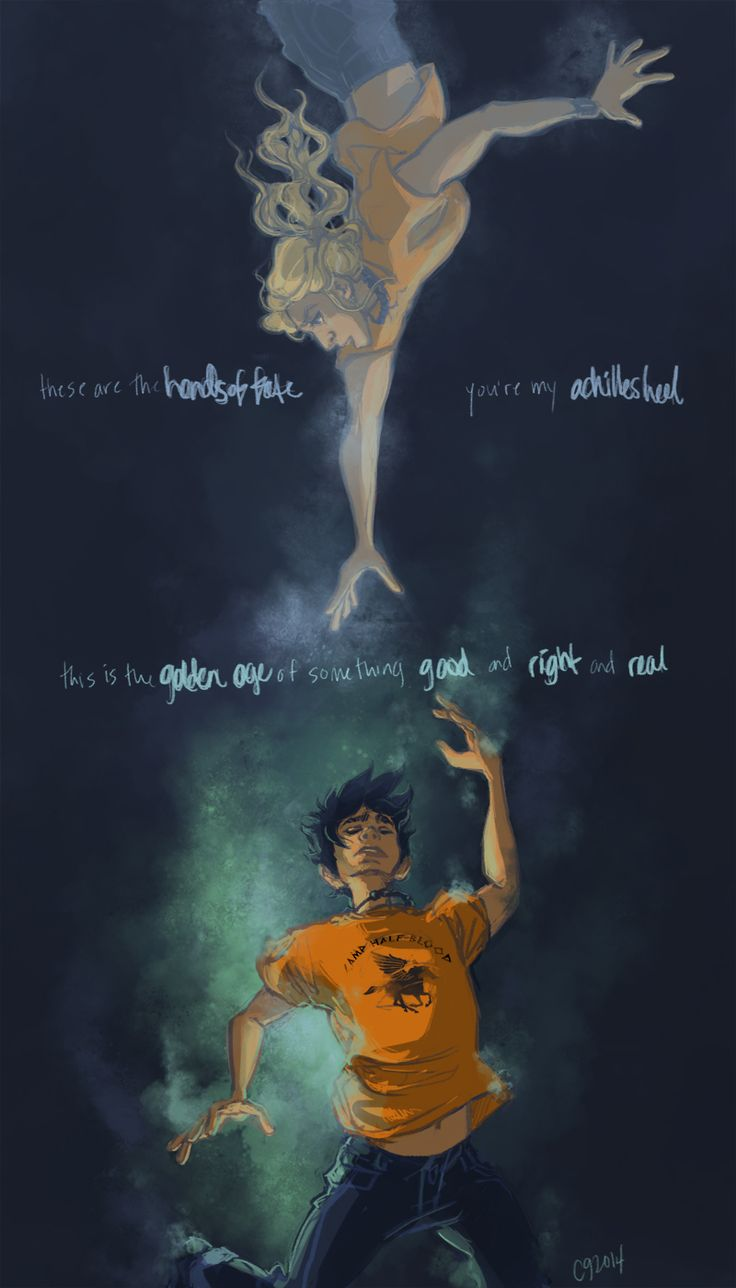 Annabeth Chase & Percy Jackson | art by kevinkevinson | Artwork