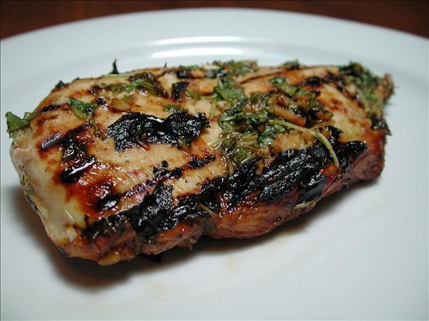 cilantro grilled chicken