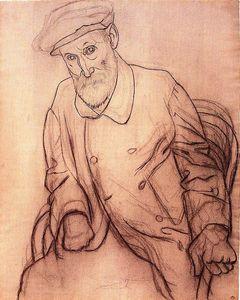 Portrait of Pierre Auguste Renoir - (Pablo Picasso)
