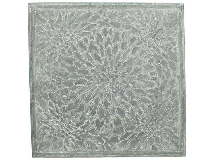 #prontowonen #droomwoonkamer Plaque Tegolo 45x45 metal grijs