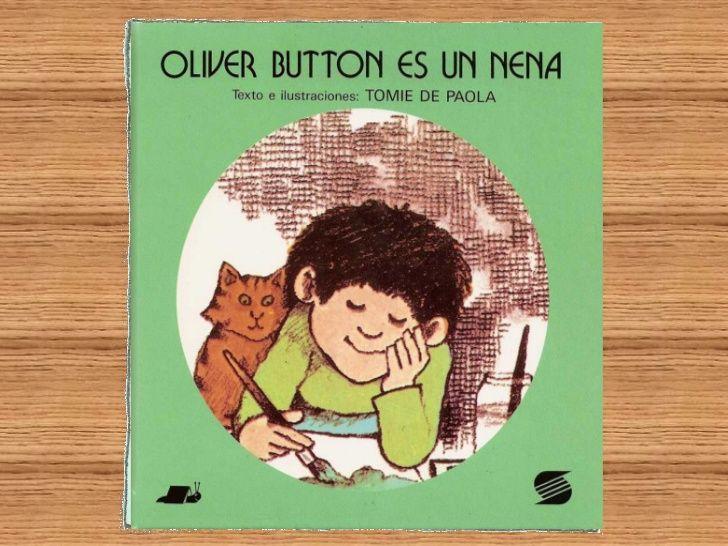 A Oliver Button lellamaban el Nena.A él no le divertía  hacer aquellas   cosas que se  supone deben hacer los niños.