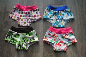 Nog niet zolang geleden zag ik het ondergoed patroon van Van Katoen  langskomen. Eindelijk eens een ondergoedpatroon met echte boxershorts ...