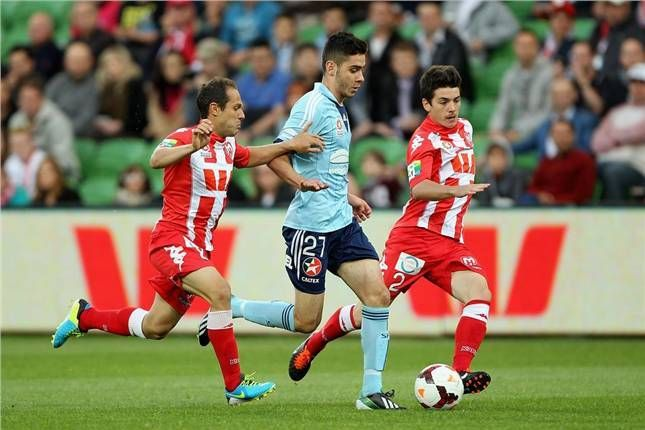 Naumoff under pressure early as Sydney FC travel to Melbourne Heart.