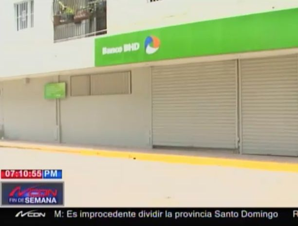 Roban Cajero Automático Del Banco BHD-León En Tamboril #Video