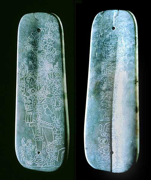 Maya. Jade. The Leiden Plaque