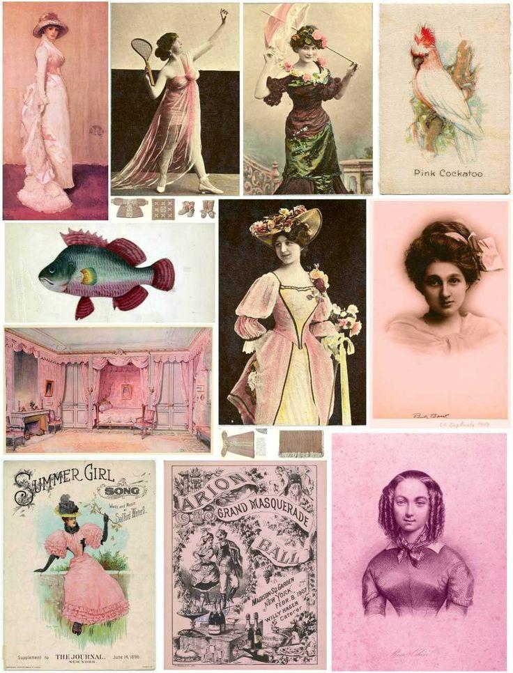 Free pink printables.