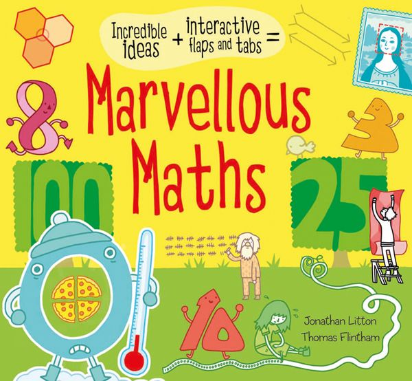 A colourful and interactive book for children who love maths
