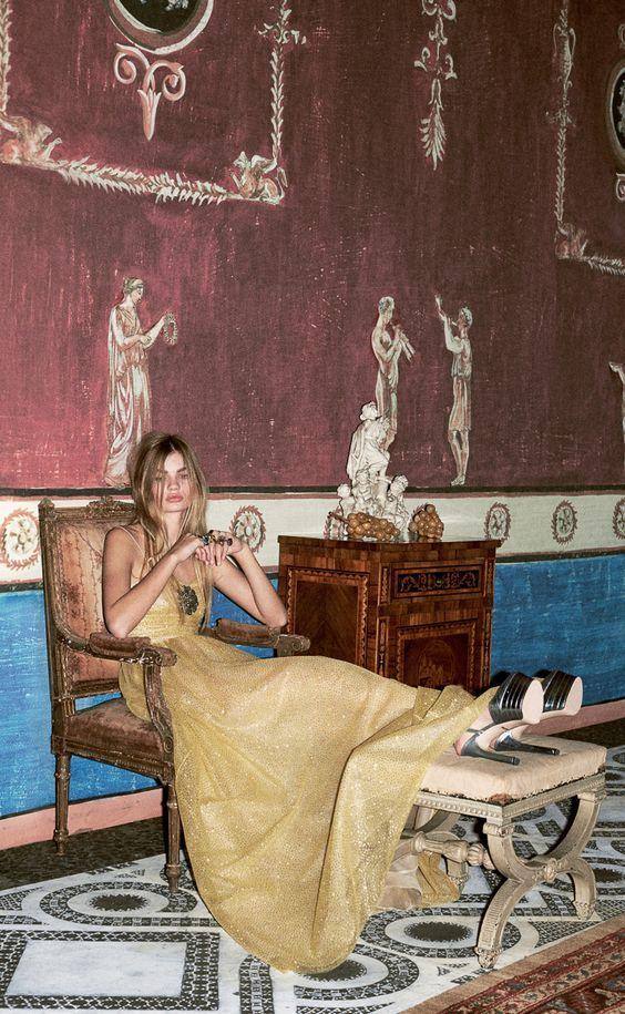 Gucci Pre Fall 2016 – Paula Schinschel by Ari Marcopoulos:
