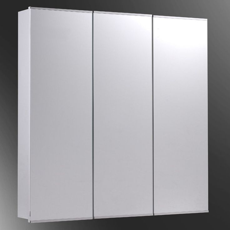Have to have it. Ketcham 36W x 36H-in. Tri-View Surface Mount Medicine Cabinet with Optional Mirror Kit $421.85