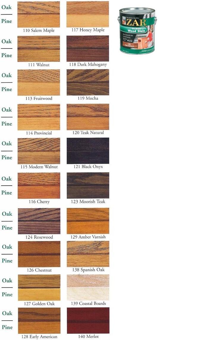 Zar Oil-Based Wood Stain | ZAR Oil Based Wood Stain - ZAR Wood Stain