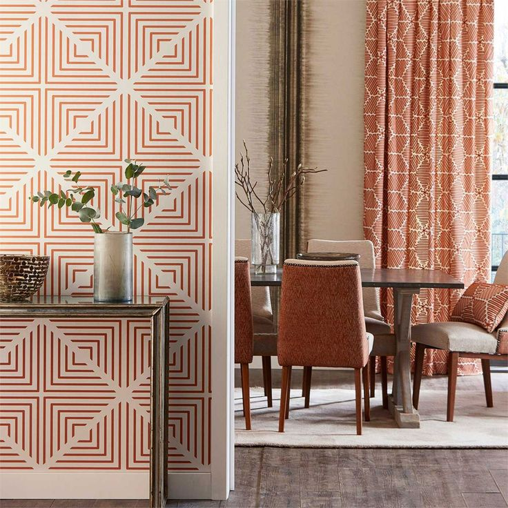Geometric design in a range of dramatic and neutral colourways | Radial by Harlequin | Jane Clayton