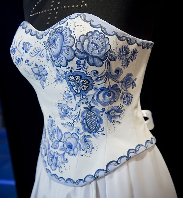 How about some china corset?... or at least illusion of that?